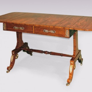 Antique early 19th Century Kingwood Sofa Table