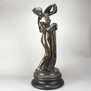 19th Century Grand Tour Italian Bronze of the 'Callypygian Venus'