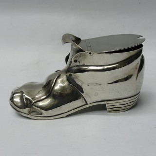 Victorian Boot Spoon Warmer