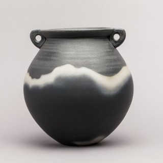 JOHN LEACH 'BLACK MOOD' VESSEL