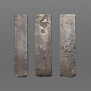 SILVER VOC - DUTCH EAST INDIES COMPANY - INGOT