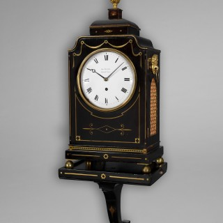 A rare and possibly unique Regency musical bracket clock by George Wilkins, Frith Street, Soho c1820