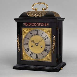 A fine, rare and well conserved Charles II quarter repeating spring table clock by Joseph Knibb, Londini Fecit c1685