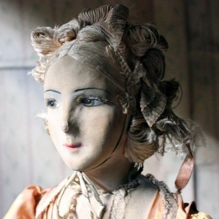 A Beautiful & Large Early 20thC French Boudoir Doll c.1920-25