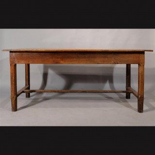 A Late 18th Century French Fruitwood Farmhouse Table