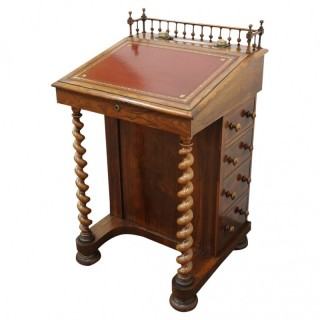 William IV Rosewood Davenport Desk