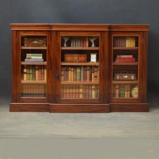 Fine Quality Victorian Bookcase