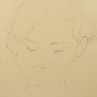 'Head of a Girl, Anna Wolmark' Henri Gaudier-Brzeska 1891–1915