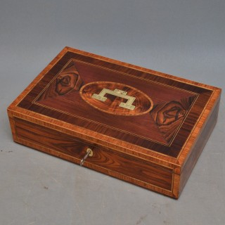 Large Georgian Jewellery Box