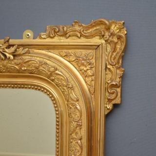 XIXth Century Giltwood Mirror