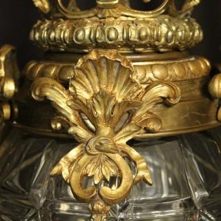 French Gilt Bronze Octagonal Versailles Lantern