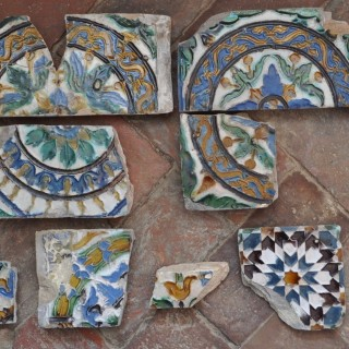 Collection of 16th-century tiles