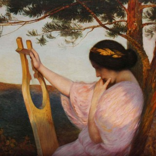 Lady with Lyre
