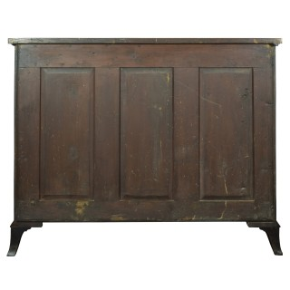 Fine George III Mahogany Serpentine Secretaire Chest of Drawers, attributed to Gillows