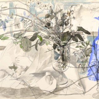 Glasses, Branches and Paper