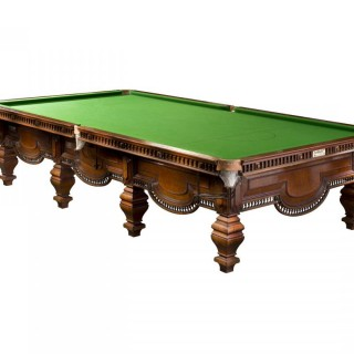 Burroughes & Watts Full Size Snooker Table