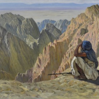 Afghan Soldier in the Karakoram Mountains, Hindu Kush, 1901