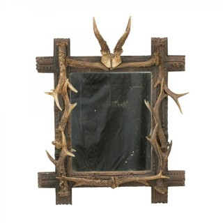 Taxidermy Antler Mirror