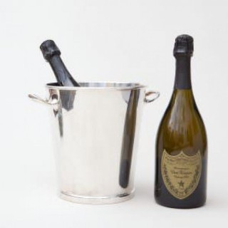 ASPREY SILVER PLATED WINE / CHAMPAGNE BOTTLE COOLER