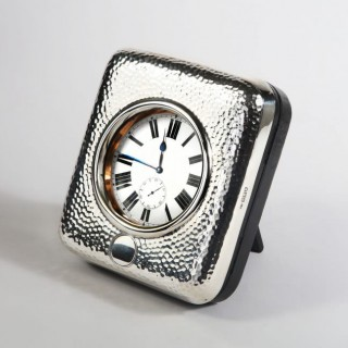 EDWARDIAN GIANT POCKET WATCH AND SILVER CASE