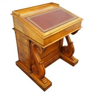 Unusual Satin Birch Davenport Desk
