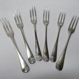 Antique George II Silver Forks