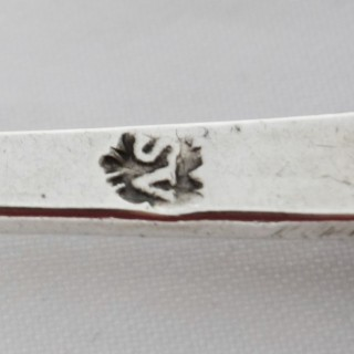 Antique Charles II Sealtop Silver Spoon