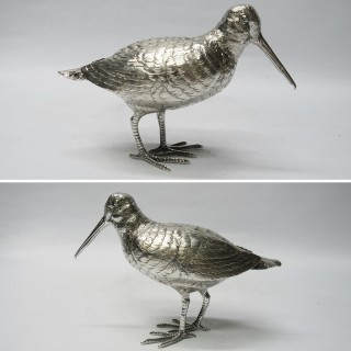 Antique German Silver Birds