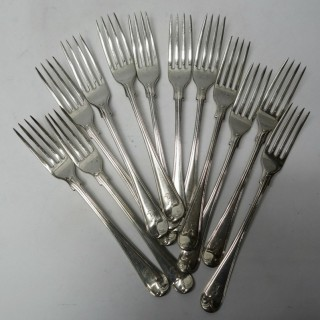 Antique Silver Forks