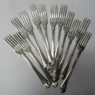 Antique Silver Forks