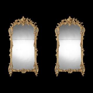A Good Pair of Mirrors in the Louis XV Taste