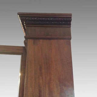 William IV mahogany bookcase.