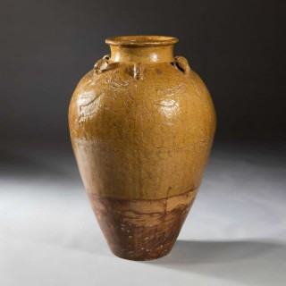 RARE SOUTH CHINESE 17TH CENTURY STORAGE JAR