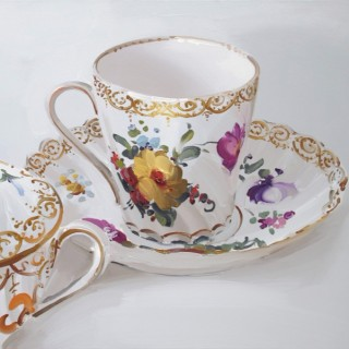 Teacup and Bowl by Alan Kingsbury
