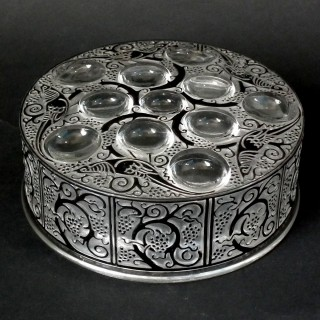 Rene Lalique Glass 'Roger' Box