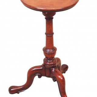 Antique 18th Century Mahogany Kettle Stand