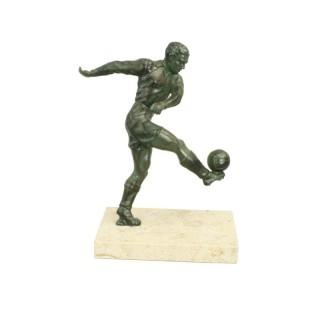 Spelter Football Figure