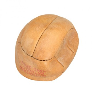 Unused Leather Football.