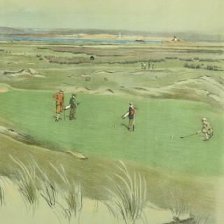 Westward Ho! Golf Print
