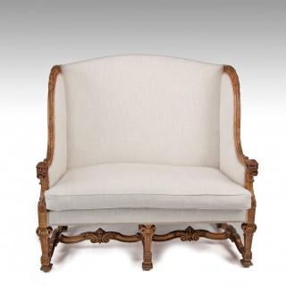 Fine Antique 19th Century  Gilt Louis XIV Style Sofa / Canape