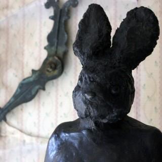 Beth Carter; Buck Rabbit; Bronze Resin & Jesmonite; Edition 4 of 15