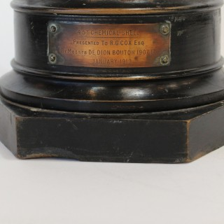 WWI 4.5inch chemical shell, De Dion Bouton