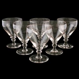 Set of Six Georgian Style Rummers