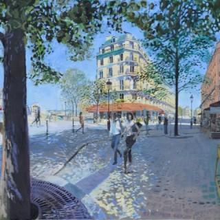 Île Saint-Louis, Paris by David Rycroft