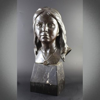 Bronze Bust by Montini