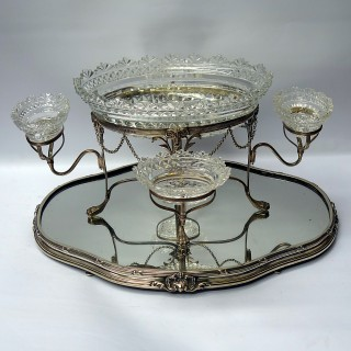 Georgian Silver Table Centrepiece