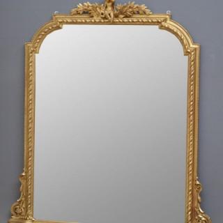 Victorian Giltwood Mirror