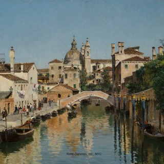 Le Rio dei Ognissanti et le Pont Trevisan