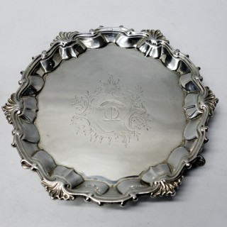 Antique George II Silver Salvers