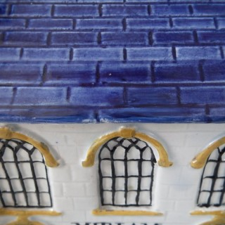 Yorkshire Prattware Mexborough Chapel Moneybox